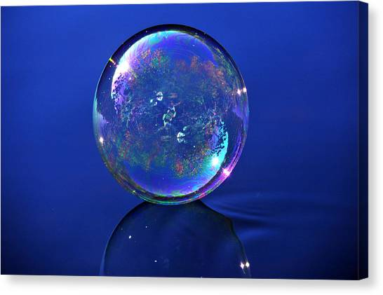 Refection Of My World Canvas Print