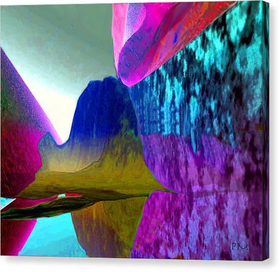 Reflect Glow X Canvas Print