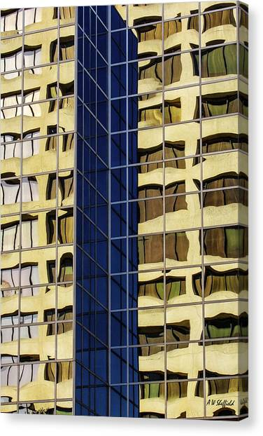 Reflecting Architecture  Canvas Print