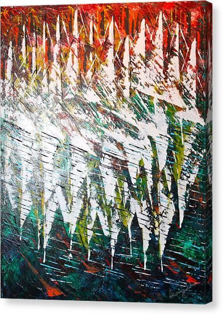 Reflecting Sails Canvas Print