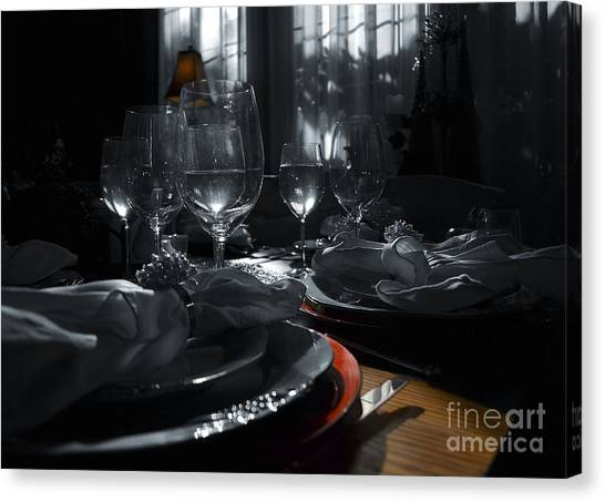 Reflecting Thanksgiving Canvas Print