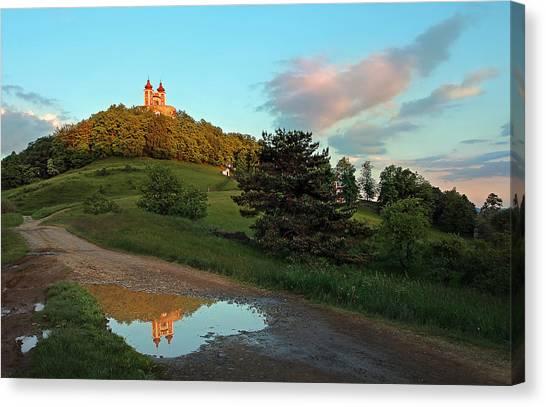 Reflection Canvas Print by Bronislava Vrbanova