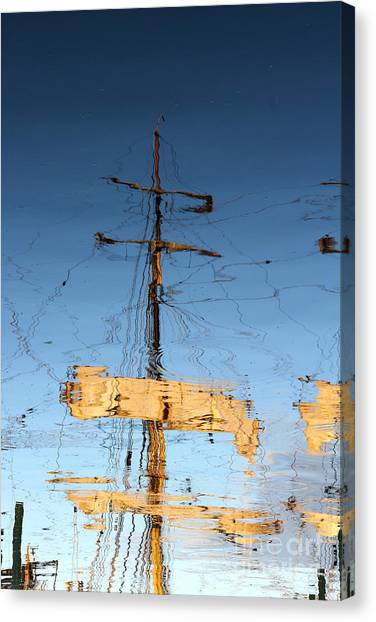 Reflection Of A Golden Age Canvas Print by Butch Lombardi