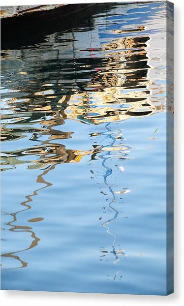 Reflections - White Canvas Print