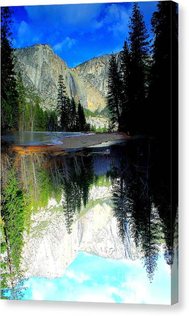 Reflections 1 Yosemite Canvas Print