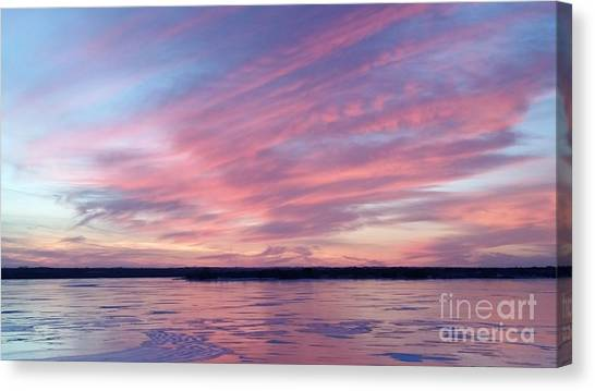 Reflections In Pink Canvas Print