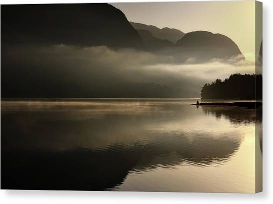 Reflections Canvas Print by Izidor Gasperlin