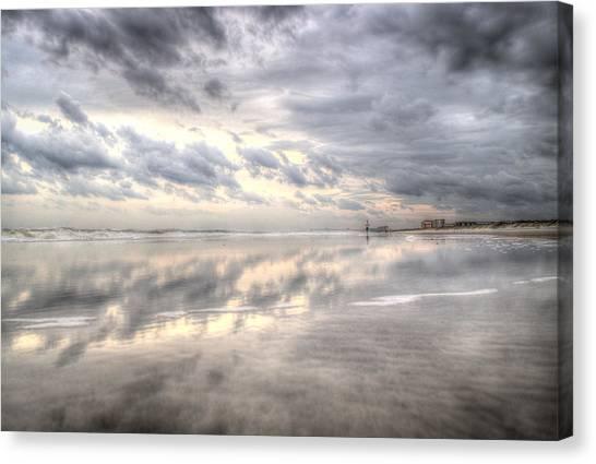 Reflections Of Amelia Island Canvas Print