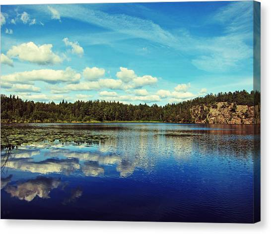 Cloud Forests Canvas Print - Reflections Of Nature by Nicklas Gustafsson