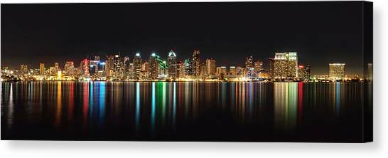 Reflections Of San Diego Canvas Print