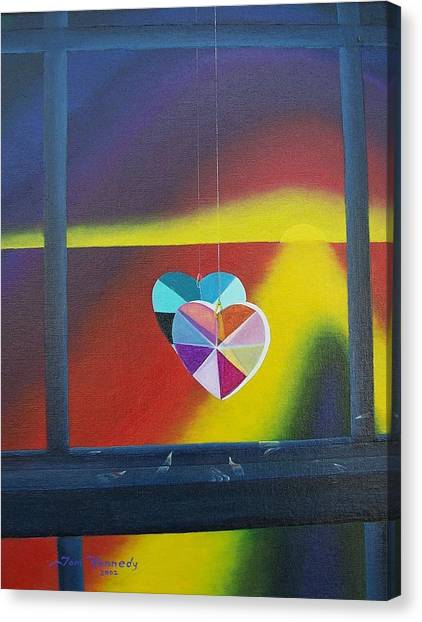 Reflections Of The Heart Canvas Print