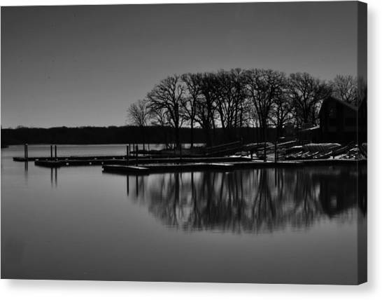 Reflections Of Water Canvas Print