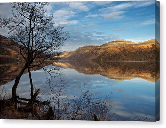 Reflections On Loch Lomond Canvas Print