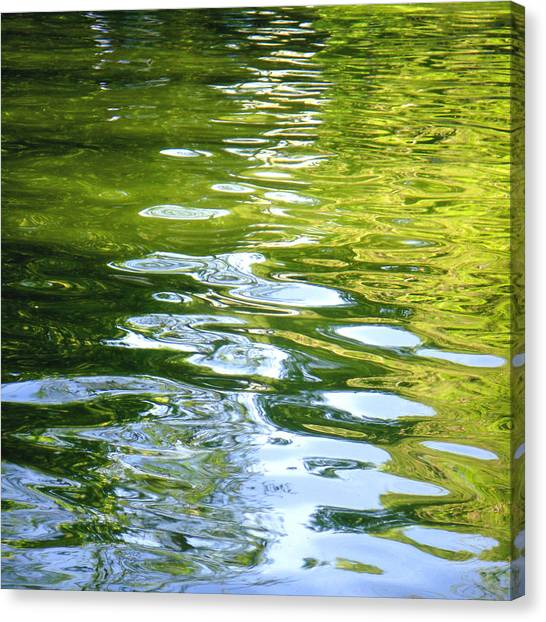 Reflections On Madrid Canvas Print