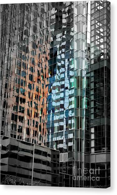 Philidelphia Canvas Print - Reflections by Tom Dale
