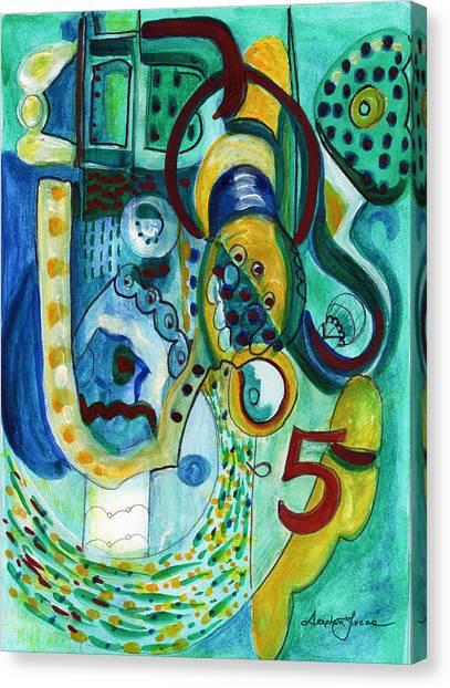 Reflective #5 Canvas Print