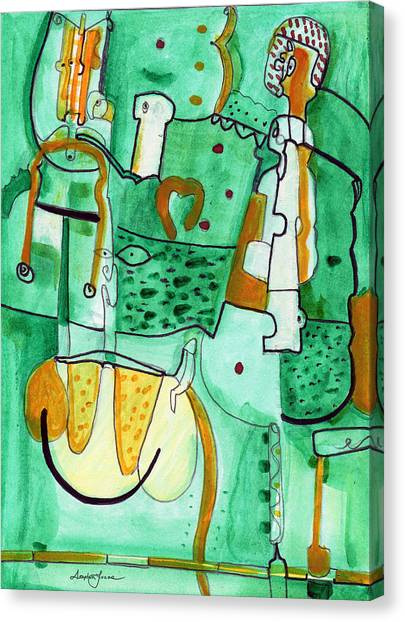 Reflective #8 Canvas Print