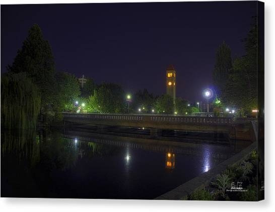 Reflective Calm Canvas Print by Dan Quam