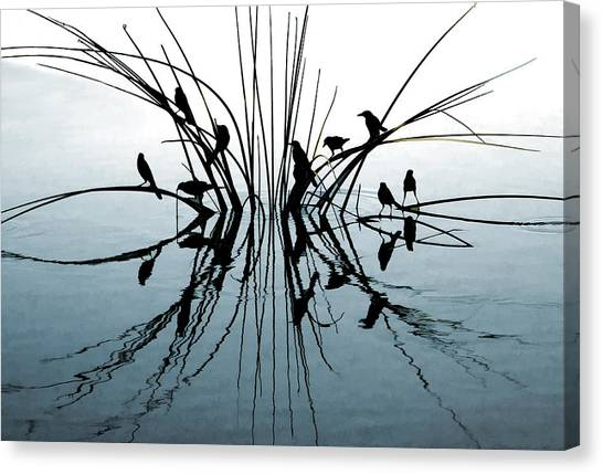 Reflective Canvas Print