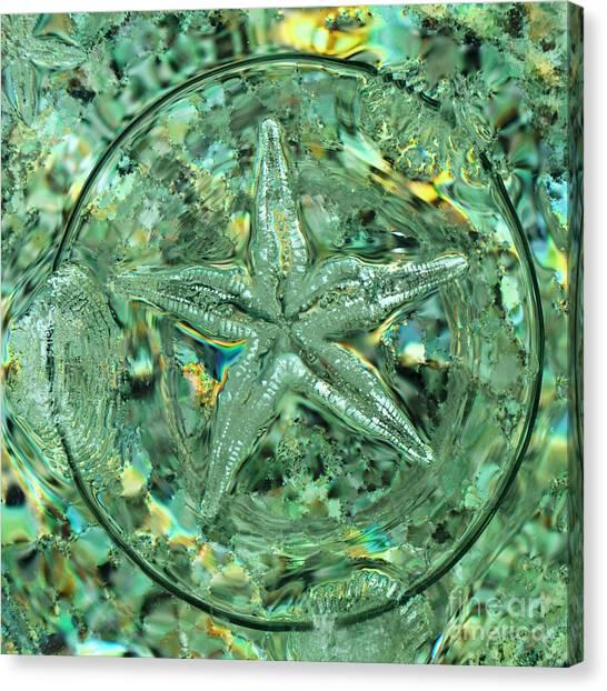 Refraction Star Canvas Print