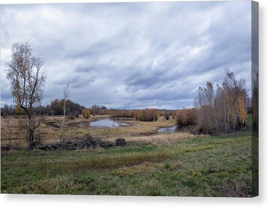 Canvas Print featuring the photograph Refuge No 1 by Belinda Greb