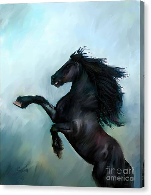 Prophetic Art Canvas Print - Regaining Strength by Tamer and Cindy Elsharouni