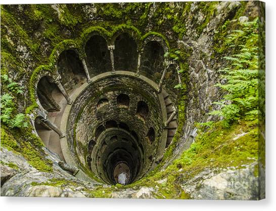 Regaleira Initiation Well 1 Canvas Print