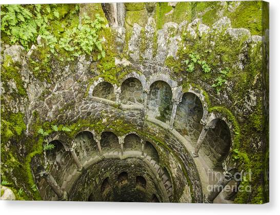 Regaleira Initiation Well 2 Canvas Print