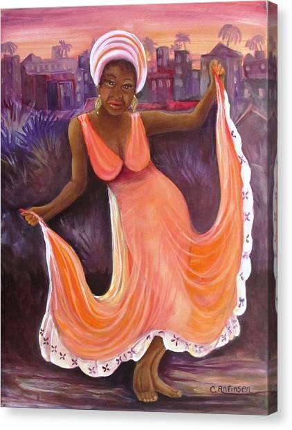 Reggae Night Canvas Print