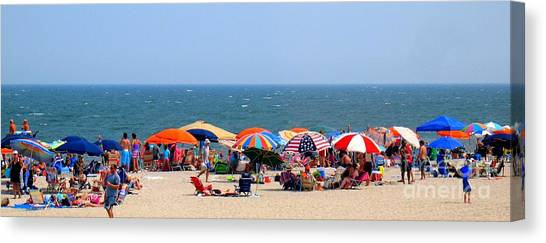 Rehobath Beach Delaware Canvas Print