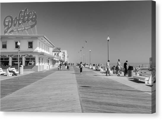 Rehoboth Beach Boardwalk Canvas Print
