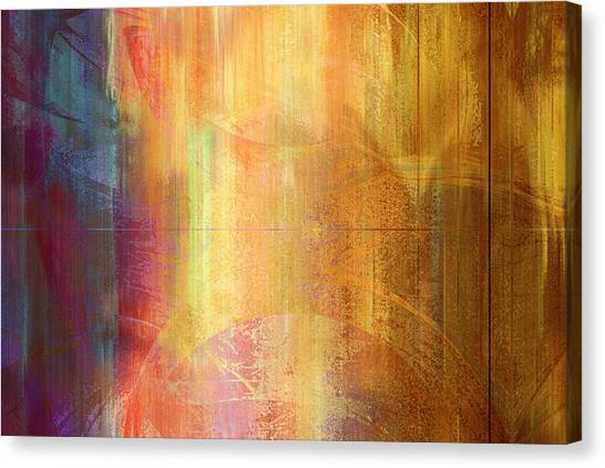 Reigning Light - Abstract Art Canvas Print