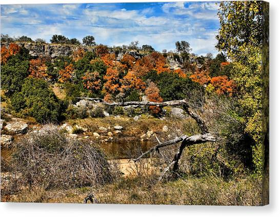 Brown Ranch Trail Canvas Print - Reimer's Ranch 1 by Judy Vincent