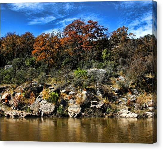 Brown Ranch Trail Canvas Print - Reimer's Ranch 3 by Judy Vincent