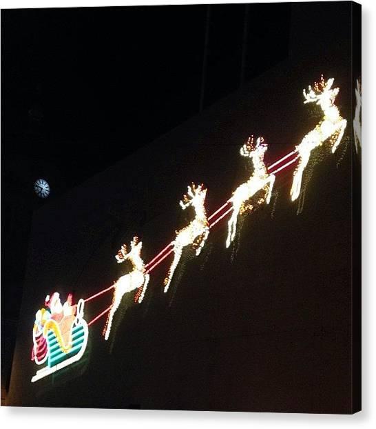 Santa Clause Canvas Print - #reindeer #santaclause #santa #clause by Keenan Zimmerman