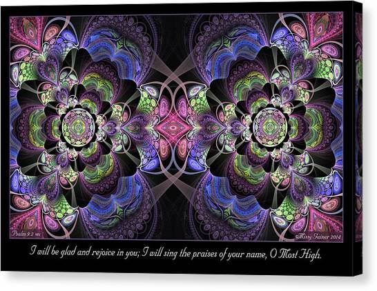 Rejoice In You Canvas Print