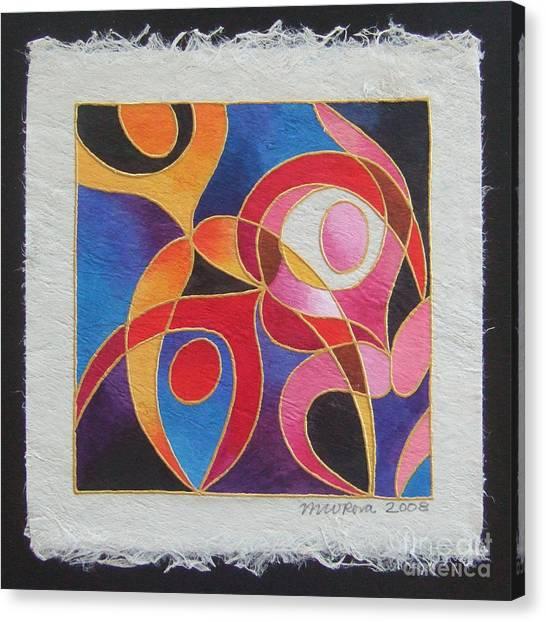 Reki I - Dance For Joy Canvas Print