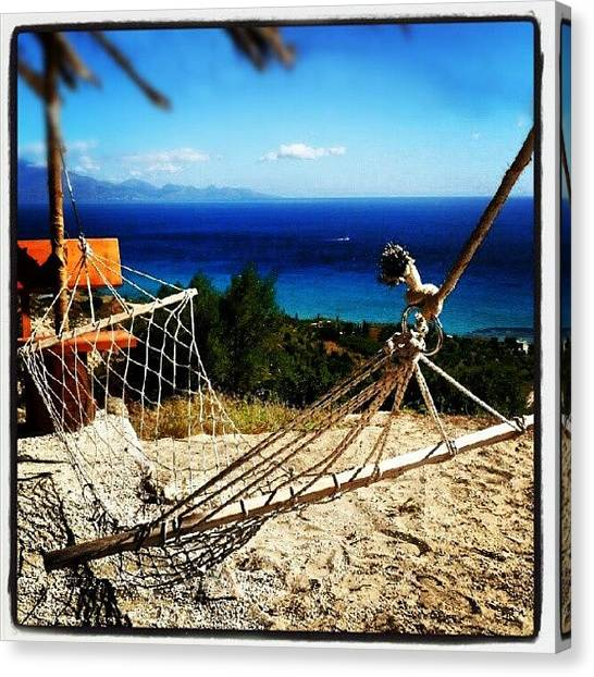 Ford Canvas Print - Relax In Zakynthos Greece #zakynthos by Alistair Ford