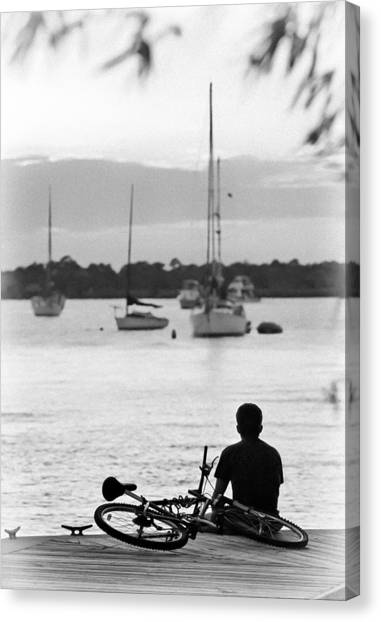 St. Lucie County Canvas Print - Relax by Patrick M Lynch