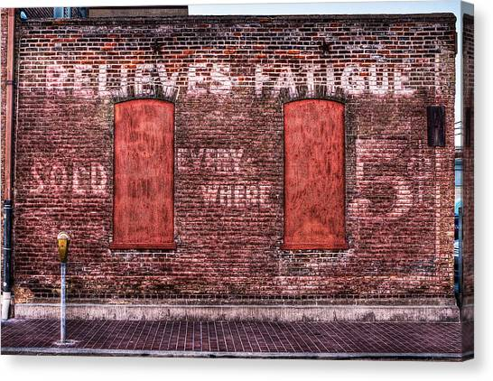 Relieves Fatigue  Canvas Print