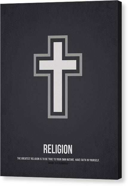 God Canvas Print - Religion by Aged Pixel