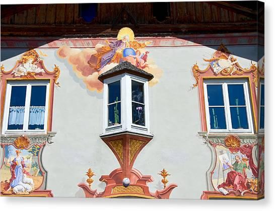 Religious Wall Mural Bavaria Canvas Print