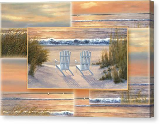 Relocated - Paradise Sunset Canvas Print