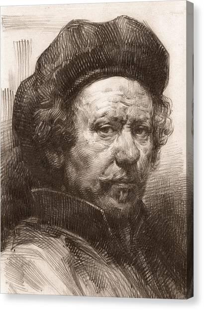 Rembrandt Portrait 1 Canvas Print