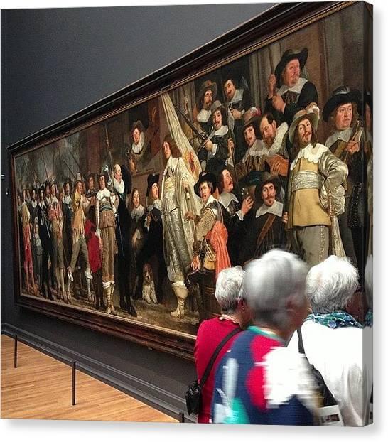 Rembrandt Canvas Print - #rembrandt #rijksmuseum #huge by Valentin Vesa