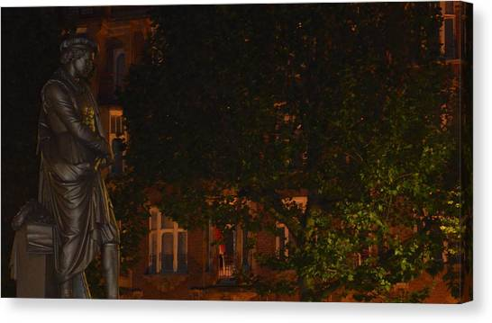 Rembrandt Square Canvas Print