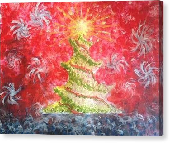 Remember The Light Canvas Print by Eloisa Bevilacqua