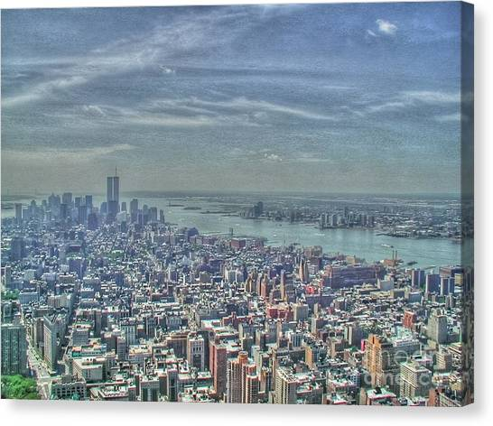 New York Remembering 9/11 Canvas Print
