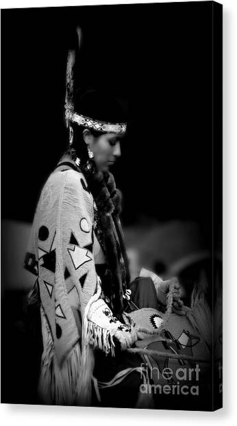 Remembering Ancestors Canvas Print by Scarlett Images Photography