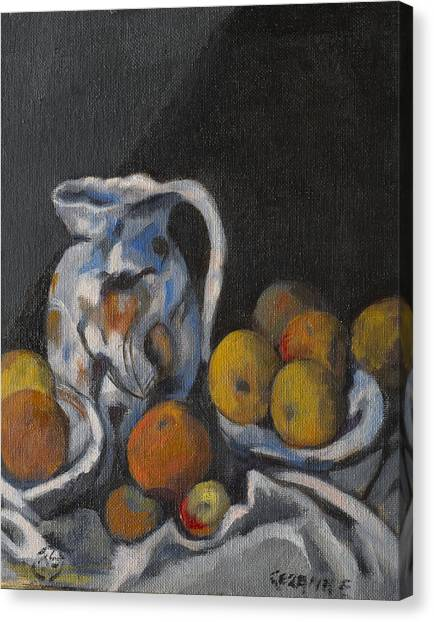 Remembering Cezanne Canvas Print